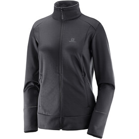 Salomon Discovery Midlayer Doorlopende Rits Dames, black